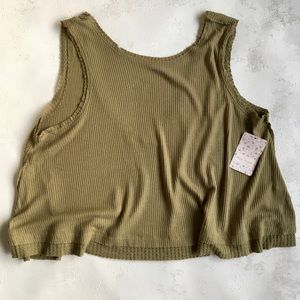 NWT Free People loose fitting top.